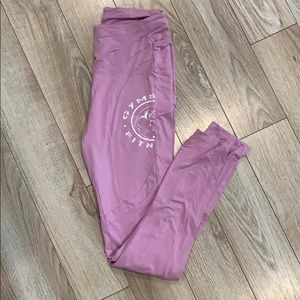 GYMSHARK WOMENS LEGACY FITNESS PANEL LEGGINGS